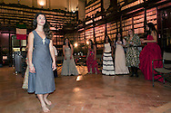 "Roma 15 Dicembre 2011.Sfilata di moda della nuova collezione primavera-estate 2012 dell' Antica Sartoria Rom..Fashion show of the new collection of suits of the Ancient Tailor Rom ..Ancient Tailor House of Rome, composed by a group of young Romanian Romani and Slavic dressmakers.""Antica Sartoria Rom"""