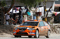 MOTORSPORT - WRC 2010 - RALLY MEXICO GUANAJUATO BICENTENARIO - MEXICO (MEX) - 04 TO 07/03/2010 - PHOTO : FRANCOIS BAUDIN / DPPI<br /> HENNING SOLBERG (NOR) / ILKA MINOR (AUT) - STOBART MOTORSPORT - FORD FOCUS WRC - ACTION