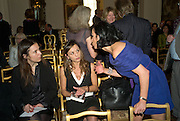 GIORGIA ORLANDI, TITTI MASTROGIACOMO AND NANCY DELL'OLIO. Launch of  'My Beautiful Game' by Nancy Dell'Olio<br />