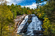 Bridal Veil Falls at DuPont State Forest in Cedar Mountain, North Carolina.<br /> <br /> &copy; Photography by Kathy Kmonicek