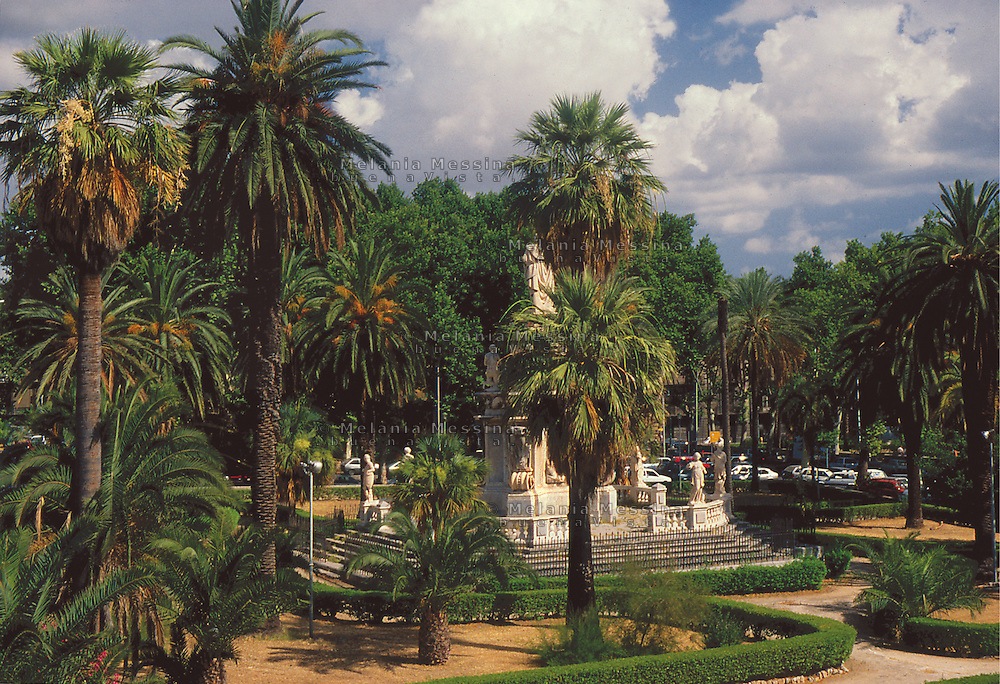 Villa Bonanno, Palermo.