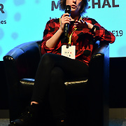 Caroline Marchal, Interior Night at London Games Festival 2019: HUB at Somerset House at Strand, London, UK. on 2nd April 2019.