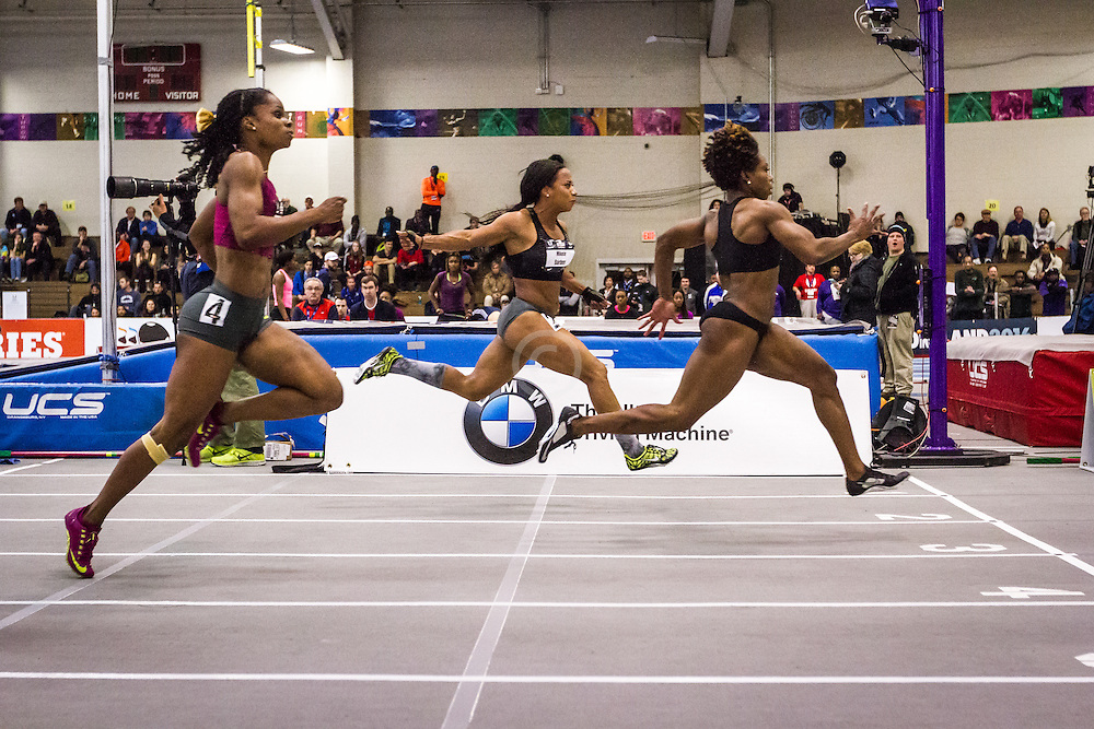 USATF Indoor Track & Field Championships: womens 60, Jessica Young