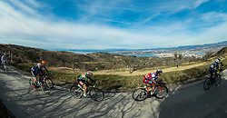 CHIRICO Luca (ITA) of Torku Sekerspor, GROŠELJ Žiga of Adria Mobil during the UCI Class 1.2 professional race 4th Grand Prix Izola, on February 26, 2017 in Izola / Isola, Slovenia. Photo by Vid Ponikvar / Sportida
