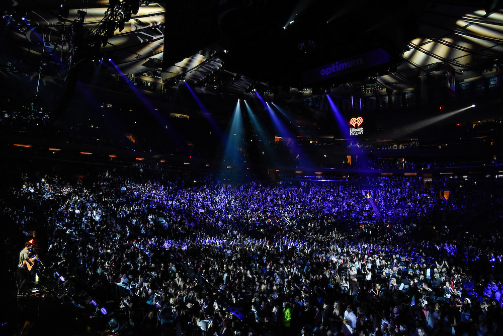 Photos of Shawn Mendes performing live at iHeartRadio Jingle Ball 2015, hosted by Z100 New York at Madison Square Garden, NYC on December 11, 2015. © Matthew Eisman/ iHeartRadio. All Rights Reserved