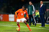 12-11-2015 VOETBAL:JONG ORANJE-JONG WIT RUSLAND:TILBURG<br /> Koning Willem II Stadion EK-kwalificatiewedstrijd<br /> <br /> Jong oranje speler Queensy Menig (PEC Zwolle) <br /> <br /> Foto: Geert van Erven