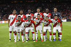 during the International friendly match match between The Netherlands and Peru at the Johan Cruijff Arena on September 06, 2018 in Amsterdam, The Netherlands