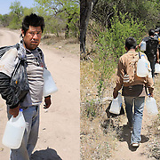 Immigration along the USA-Mexico border.