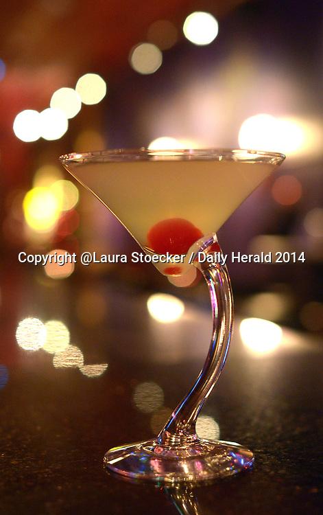 Laura Stoecker/lstoecker@dailyherald.com<br /> An Appletini at the Martini Room in Elgin.