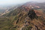 Igarape_MG, Brasil.<br /> <br /> Vista aerea da mineracao em Igarape, Minas Gerais.<br /> <br /> Aerial view of mining in Igarape, Minas Gerais.<br /> <br /> Foto: JOAO MARCOS ROSA / NITRO