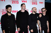 """X Ambassadors attend VH1's """"Big Music in 2015: You Oughta Know"""" concert at  The Armory Foundation in New York City, New York on November 12, 2015."""
