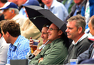 Photo © ANDREW FOSKER / SPORTZPICS 2008 -  Rain at the Oval delayed play but did not dampen the enjoyment of some spectators here enjoying an early pint  - England v South Africa - 09/08/08 - Fourth nPower Test Match -  Day 3 - The Brit Oval - London - UK - All rights reserved