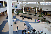 The main atrium at Arnot Mall in Elmira, New York on Thursday, May 25, 2017. CREDIT: Mike Bradley for the Wall Street Journal<br /> RIPPLES