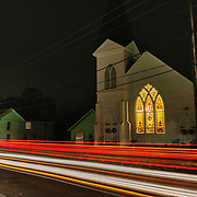 Church in the town of Dailey, Randolph County, West Virginia.