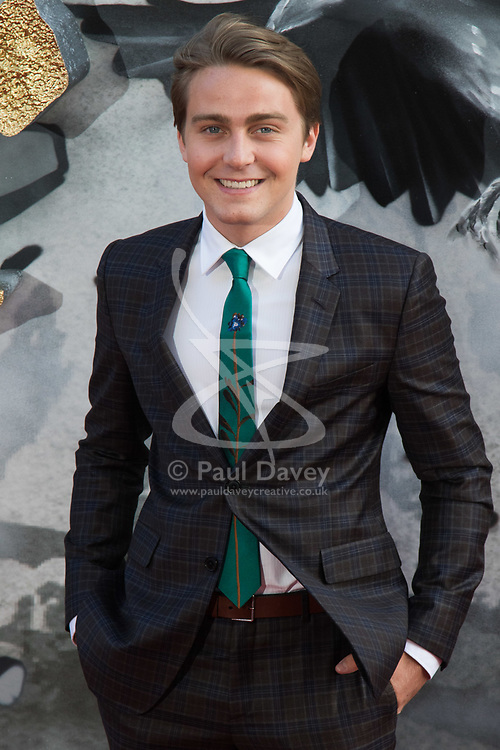 London, May 10th 2017. Barney Walsh attends the European premiere of King Arthur - Legend of the Sword at the Cineworld Empire in Leicester Square.