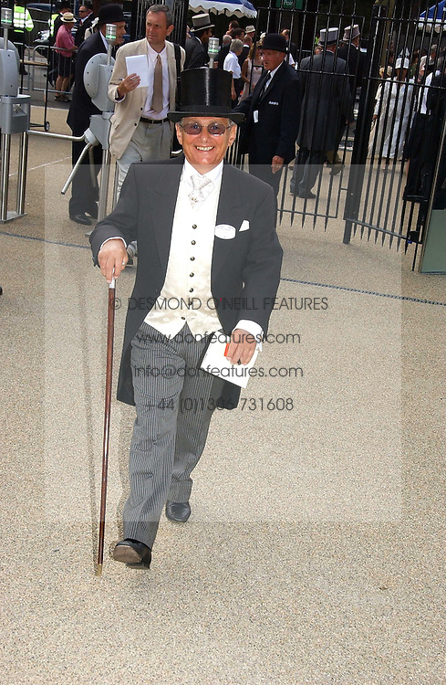 WILLIE CARSON at the first day of the Royal Ascot racing festival 2006 at Ascot Racecourse, Berkshire on 20th June 2006.<br /><br />NON EXCLUSIVE - WORLD RIGHTS
