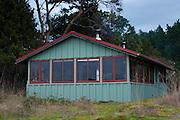 Cabin at Hoton's Hook, Shaw Island, Washington, US