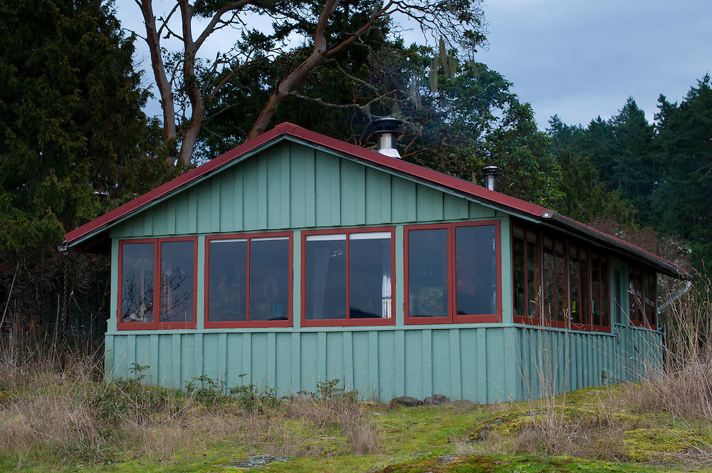 Cabin at Hoton's Hook, Shaw Island, Washington, US