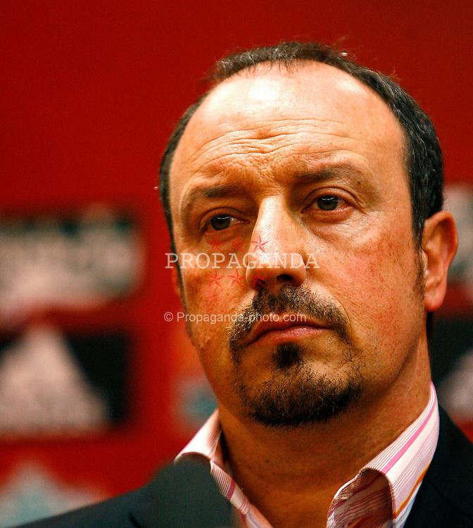 Liverpool, England - Wednesday, July 4, 2007: Liverpool manage Rafael Benitez. (Photo by David Rawcliffe/Propaganda)