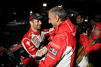 MOTORSPORT - WORLD RALLY CHAMPIONSHIP 2011 - WALES RALLY GB / RALLYE DE GRANDE-BRETAGNE - CARDIFF (GBR) - 10 TO 13/11/2011 - PHOTO : BASTIEN BAUDIN / DPPI - LOEB SEBASTIEN (FRA) - CITROËN DS 3 WRC - CITROËN TOTAL WRT - AMBIANCE PORTRAIT DIDIER CLEMENT