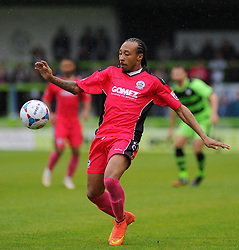 Dover Athletic's Ricky Modeste.  - Photo mandatory by-line: Nizaam Jones - Mobile: 07966 386802 - 25/04/2015 - SPORT - Football - Nailsworth - The New Lawn - Forest Green Rovers v Dover - Vanarama Conference League