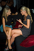 BETH HANNAWAY; KAYLEIGH CURNEEN  Beat Summer party hosted by Luca del Bono at L'Atelier de Joel Robuchon. West St. London. WC2. 1 July 2008.  *** Local Caption *** -DO NOT ARCHIVE-© Copyright Photograph by Dafydd Jones. 248 Clapham Rd. London SW9 0PZ. Tel 0207 820 0771. www.dafjones.com.