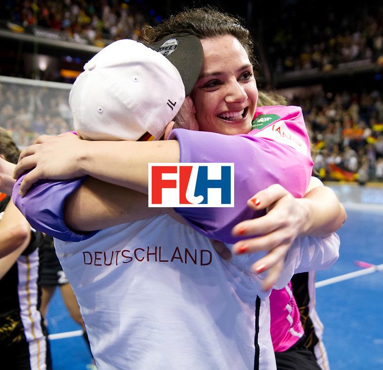 BERLIN - Indoor Hockey World Cup<br /> Final: Netherlands - Germany<br /> Germany wins the world championship.<br /> foto: Rosa Krueger.<br /> WORLDSPORTPICS COPYRIGHT FRANK UIJLENBROEK
