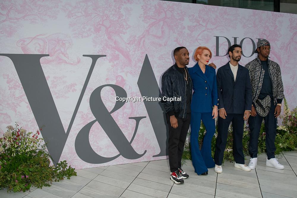 Noomi Rapace, Riz Ahmed, Krept and Konan arrives at V&A - summer party, on 19 June 2019, London, UK