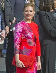 March 10, 2016 - Washington, District of Columbia, United States of America - Mrs. Sophie Grégoire Trudeau attends the Arrival Ceremony opening the Official Visit of Prime Minister Justin Trudeau of Canada the South Lawn of the White House in Washington, DC on Thursday, March 10, 2016. .Credit: Ron Sachs / CNP (Credit Image: © Ron Sachs/CNP via ZUMA Wire)