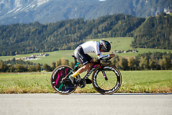 Trixi Worrack (GER) at UCI Road World Championships 2018 - Elite Women's ITT, a 27.7 km individual time trial in Innsbruck, Austria on September 25, 2018. Photo by Chris Auld/velofocus.com