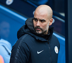 Manchester City manager Pep Guardiola ahead of the match - Mandatory by-line: Jack Phillips/JMP - 26/01/2019 - FOOTBALL - Etihad Stadium - Manchester, England - Manchester City v Burnley - Emirates FA Cup
