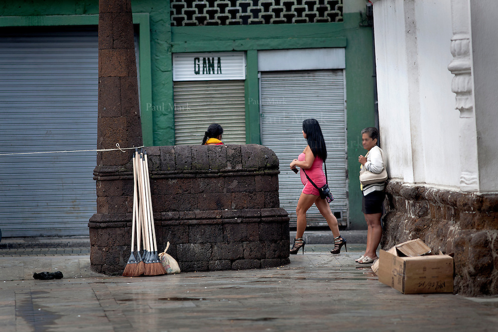 Veracruz an area of the city centre used by sexual workers.<br />
