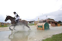 Schrade Dirk, (GER), Hop and Skip<br /> European Championship Aachen 2015<br /> © Hippo Foto - Stefan Lafrentz