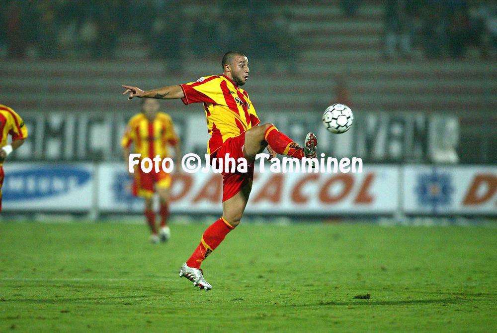 19.09.2004, Lecce, Italia..Serie A, US Lecce v Brescia.Alexei Eremenko Jr - US Lecce.©Juha Tamminen.....ARK:k