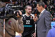 DESCRIZIONE : Eurolega Euroleague 2014/15 Gir.A Dinamo Banco di Sardegna Sassari - Nizhny Novgorod<br /> GIOCATORE : Taylor Rochestie Pietro Colnago<br /> CATEGORIA : Fox Sport TV Ritratto Intervista<br /> SQUADRA : Fox Sport TV Nizhny Novgorod<br /> EVENTO : Eurolega Euroleague 2014/2015<br /> GARA : Dinamo Banco di Sardegna Sassari - Nizhny Novgorod<br /> DATA : 21/11/2014<br /> SPORT : Pallacanestro <br /> AUTORE : Agenzia Ciamillo-Castoria / Luigi Canu<br /> Galleria : Eurolega Euroleague 2014/2015<br /> Fotonotizia : Eurolega Euroleague 2014/15 Gir.A Dinamo Banco di Sardegna Sassari - Nizhny Novgorod<br /> Predefinita :
