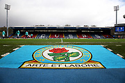 General view before the EFL Sky Bet Championship match between Blackburn Rovers and Preston North End at Ewood Park, Blackburn, England on 9 March 2019.