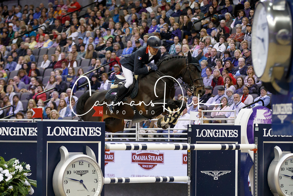 Delestre Simon, FRA, Chadino<br /> Longines FEI World Cup Jumping Final IV, Omaha 2017 <br /> © Hippo Foto - Dirk Caremans<br /> 02/04/2017