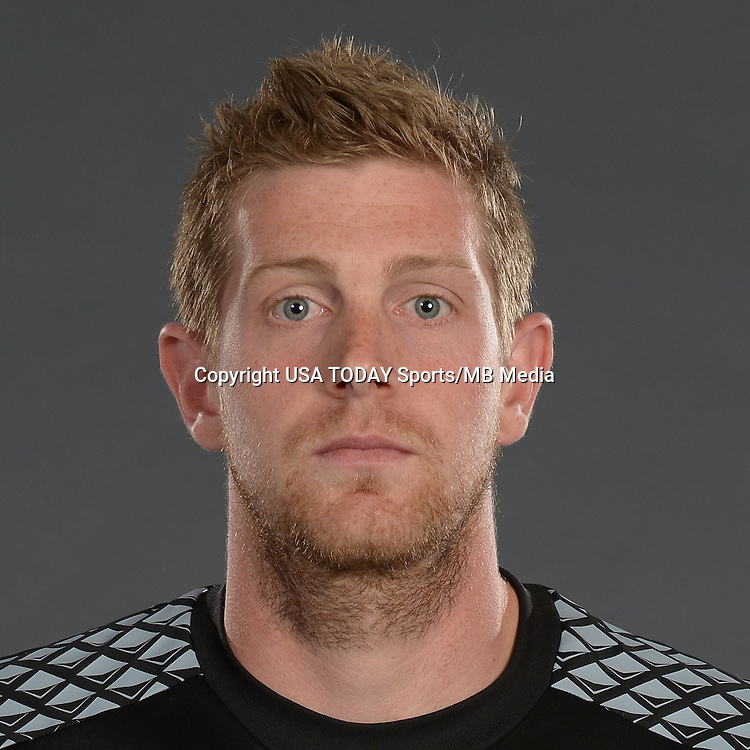 Feb 25, 2016; USA; Colorado Rapids player Zac MacMath poses for a photo. Mandatory Credit: USA TODAY Sports