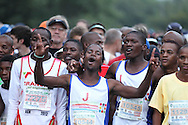 HARTEBEESPOORT, SOUTH AFRICA, Saturday 17 March 2011, runners/ athletes during the Old Mutual Om Die Dam ultra marathon at the Hartebeespoort Dam, outside Pretoria..Photo by Roger Sedres/Image SA