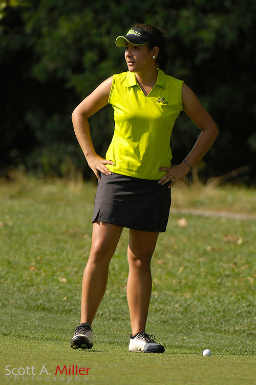 Amateur golfer Maria Jose Uribe during the U.S. Women's Amateur at Crooked Stick Golf Club on Aug. 11, 2007 in Carmel, Ind....©2007 Scott A. Miller