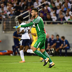 Hugo Lloris of Spurs during the International Champions Cup match between Paris Saint Germain and Tottenham Hotspur on July 22, 2017 in Orlando, United States. (Photo by Dave Winter/Icon Sport)