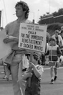 1985 Yorkshire Miner's Gala. Rotherham.