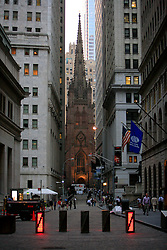 USA NEW YORK JUN10 - Wall Street in downtown Manhattan, New York...jre/Photo by Jiri Rezac..© Jiri Rezac 2010