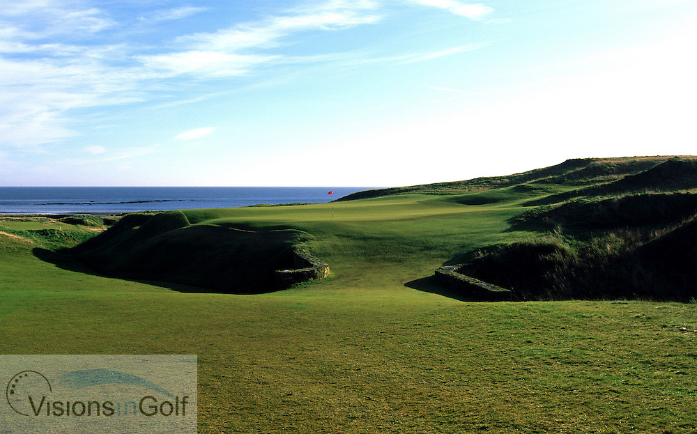 Kingsbarns Golf Club, Scotland. <br /> Mandatory credit: Visions In Golf/Richard Castka