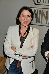 SADIE FROST at a party to celebrate the launch of Top Dog at 48 Frith Street, Soho, London on 27th May 2015