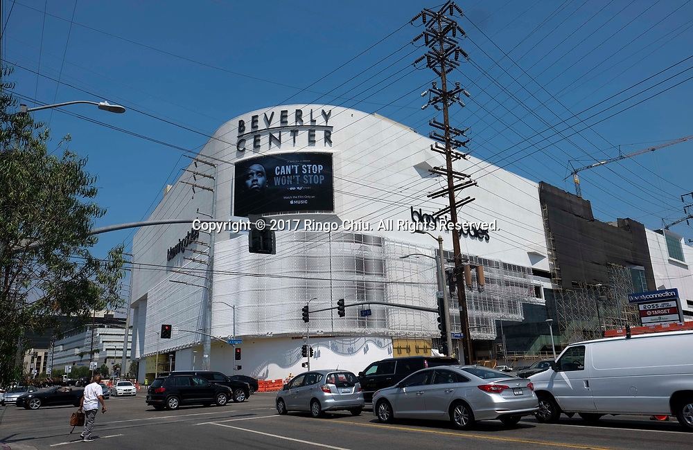 The  Beverly Center during it's renovation. (Photo by Ringo Chiu)<br /> . (Photo by Ringo Chiu)<br /> <br /> Usage Notes: This content is intended for editorial use only. For other uses, additional clearances may be required.