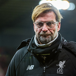 Liverpool manager Jurgen Klopp during the Premier League match between Stoke City and Liverpool<br /> (c) John Baguley | SportPix.org.uk