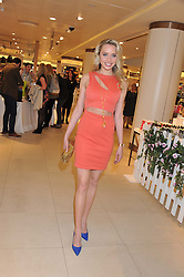 NOELLE RENO at the launch of the new John Lewis Beauty Hall, John Lewis, Oxford Street, London on 8th May 2012.