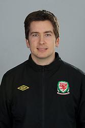TREFOREST, WALES - Tuesday, February 14, 2011: Wales' Rhodri Martin. (Pic by David Rawcliffe/Propaganda)