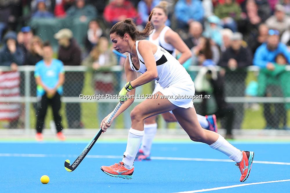 Amy Robinson of Black Sticks. Women's International Hockey Test Black Sticks v USA, Waimakariri Hockey Stadium, Rangiora, New Zealand. Sunday, 26 March, 2017. Copyright Photo: Martin Hunter / www.photosport.nz